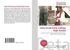 Capa do livro de Valle Verde Early College High School