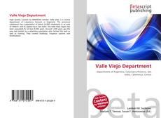 Valle Viejo Department kitap kapağı