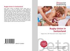 Bookcover of Rugby Union in Switzerland