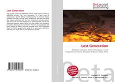 Bookcover of Lost Generation