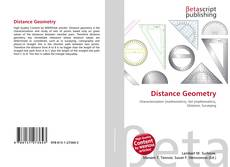 Bookcover of Distance Geometry