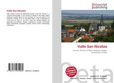 Bookcover of Valle San Nicolao