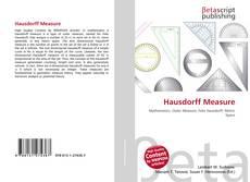 Bookcover of Hausdorff Measure