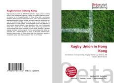 Rugby Union in Hong Kong kitap kapağı
