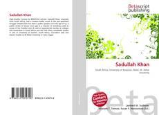 Bookcover of Sadullah Khan