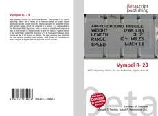 Capa do livro de Vympel R- 23
