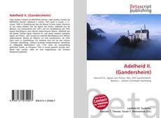 Couverture de Adelheid II. (Gandersheim)