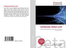 Bookcover of Sahibzada Abdul Latif
