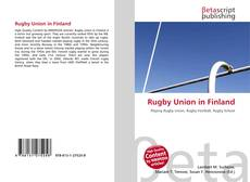 Rugby Union in Finland的封面
