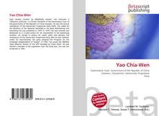 Capa do livro de Yao Chia-Wen