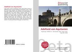 Bookcover of Adelheid von Aquitanien