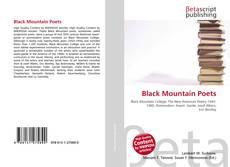Copertina di Black Mountain Poets