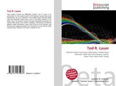 Capa do livro de Tod R. Lauer