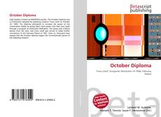 October Diploma kitap kapağı