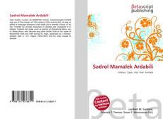 Обложка Sadrol Mamalek Ardabili
