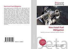 Buchcover von Non-Fossil Fuel Obligation