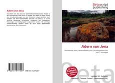 Buchcover von Adern von Jena