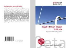 Borítókép a  Rugby Union Match Officials - hoz