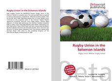 Rugby Union in the Solomon Islands的封面