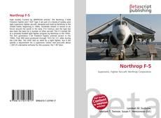 Bookcover of Northrop F-5