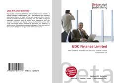 UDC Finance Limited kitap kapağı