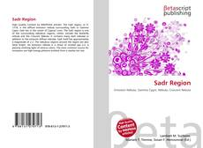 Bookcover of Sadr Region