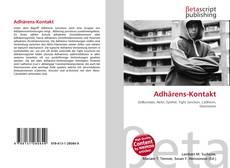 Buchcover von Adhärens-Kontakt