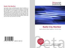 Bookcover of Radio City Maribor