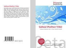 Buchcover von Sadozai (Pashtun Tribe)
