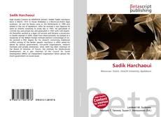 Capa do livro de Sadik Harchaoui
