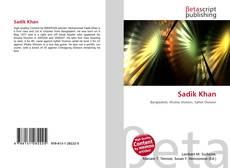 Capa do livro de Sadik Khan