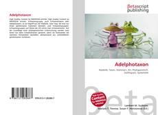 Couverture de Adelphotaxon