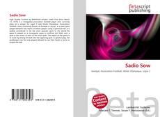 Bookcover of Sadio Sow