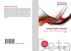 Capa do livro de Sadiq Public School