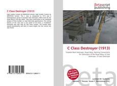 Capa do livro de C Class Destroyer (1913)