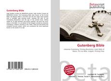 Bookcover of Gutenberg Bible