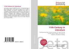 Portada del libro de 11th Century in Literature