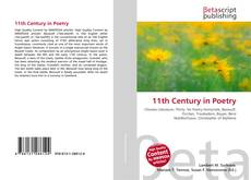 Portada del libro de 11th Century in Poetry