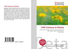 Portada del libro de 10th Century in Poetry