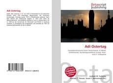 Bookcover of Adi Ostertag