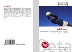 Capa do livro de Adi Pinter