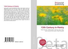 Couverture de 13th Century in Poetry