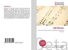 Buchcover von Adi Rinner