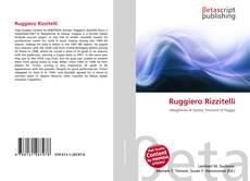 Borítókép a  Ruggiero Rizzitelli - hoz