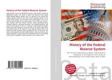 History of the Federal Reserve System kitap kapağı