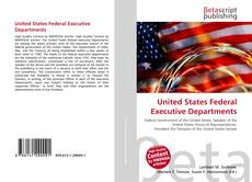 Portada del libro de United States Federal Executive Departments
