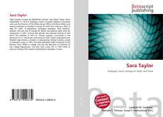 Bookcover of Sara Taylor