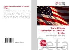 Portada del libro de United States Department of Veterans Affairs