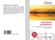 Bookcover of Adiabatische Erreichbarkeit