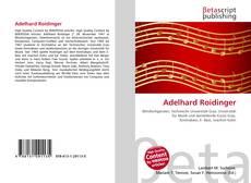 Buchcover von Adelhard Roidinger